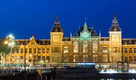 The Central station , Amsterdam, Netherlands. Stock Photography