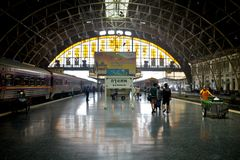 Central station in bangkok Royalty Free Stock Photos