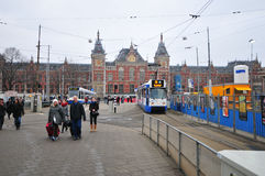 The Central Station building - Amsterdam, Netherlands Stock Photography