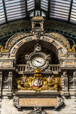 Central station in the city of Antwerp, Belgium Royalty Free Stock Photos