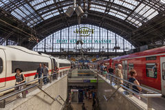 Central Station in Cologne, Germany Stock Images