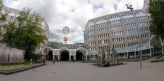 Central station Dusseldorf. Düsseldorf Central Station (Düsseldorf Hauptbahnhof) is a railway station for the city of Düsseldorf in Germany Royalty Free Stock Images