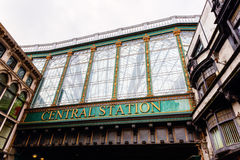 Central station of Glasgow, Scotland, UK. Picture of the central station of Glasgow, Scotland, UK Stock Photos
