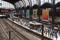Central Station in Hamburg, Germany Stock Photos