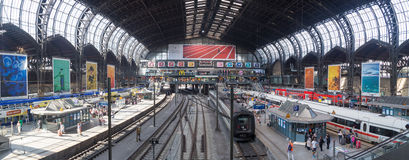 Central Station in Hamburg, Germany Royalty Free Stock Image