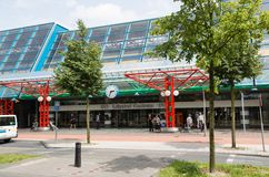 Central station of Lelystad, the Netherlands Royalty Free Stock Photography