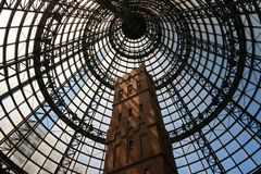 Central Station in Melbourne. Tower in the Central Station in Melbourne Royalty Free Stock Photography