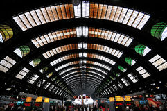 The Central Station in Milan, Italy Stock Photos