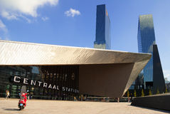 Central Station of Rotterdam, the Netherlands Stock Photos