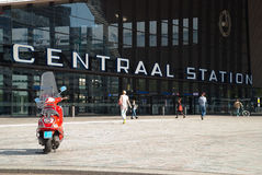Central Station of Rotterdam, the Netherlands Royalty Free Stock Photography