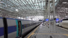 Central Station in Seoul, Korea stock footage