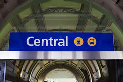 Central station in Sidney Stock Photo