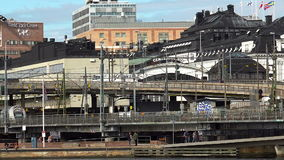 Central Station in Stockholm. Sweden. Central Station in Stockholm. Sweden stock footage