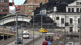 Central Station in Stockholm. Sweden. Central Station in Stockholm. Sweden stock video footage
