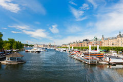 Central Stockholm Royalty Free Stock Images