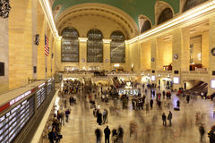 central storslagen manhattan ny station york Arkivbild