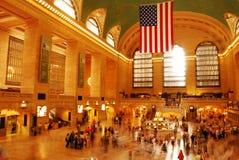 central storslagen station Arkivbild
