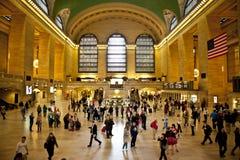 central storslagen station Arkivbilder