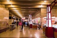 central storslagen terminal Arkivbild
