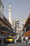 Central street of Damascus befor war Royalty Free Stock Image