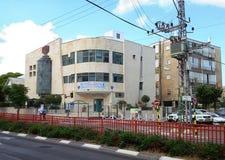 Central synagoga Uzan i Rishon LeZion Arkivfoton