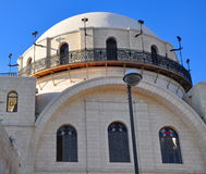 Central synagogue. Stock Photo