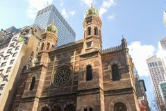 Central Synagogue - New York City stock photo