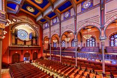 Central Synagogue - New York City stock image