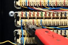Central téléphonique images stock