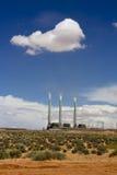 Central térmico en Arizona, los E.E.U.U. Foto de archivo libre de regalías