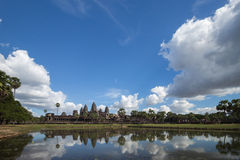 Central temple of Angkor Wat - 2 Stock Photo