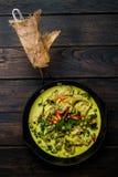 Chicken Green Curry stock photos