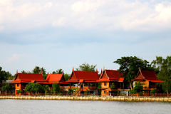 Central Thailand Home Style Stock Images