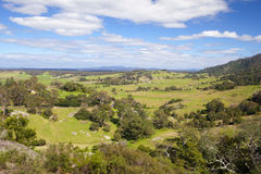 Central Tilba Countryside Royalty Free Stock Photography