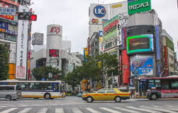 Central Tokyo Royalty Free Stock Photography