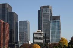Central Tokyo skyscraper Stock Photography