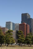 Central Tokyo skyscraper Stock Image