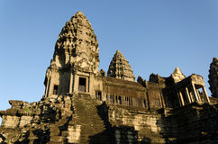 Central Tower of Angkor Wat in Siem Reap Stock Images