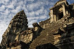 Central Tower Angkor Wat Temple Stock Images