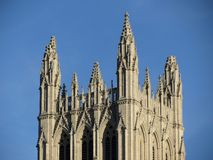 Central Tower of the National Cathedral Stock Photos