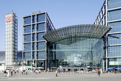 Central train station of Berlin Stock Photo