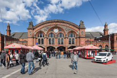 Central Train Station in Bremen Royalty Free Stock Photography