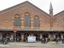 Central Train Station Copenhagen, Denmark Royalty Free Stock Image