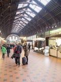 Central Train Station Copenhagen, Denmark Stock Photos