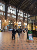 Central Train Station Copenhagen, Denmark Royalty Free Stock Photography