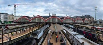 Central train station in Copenhagen Stock Image