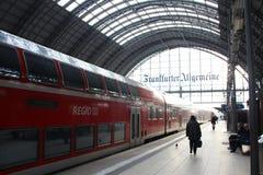 Frankfurt Train Station Royalty Free Stock Photography