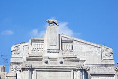 Central train station, Milan. View of Central train station, Milan - Italy Stock Photography
