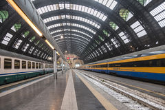 Central train station in Milan Stock Photography