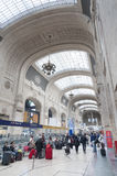 Central Train Station of Milan Stock Photo